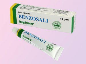 Hình ảnh minh họa: Hồ sơ lô sản xuất thuốc mỡ Benzosali