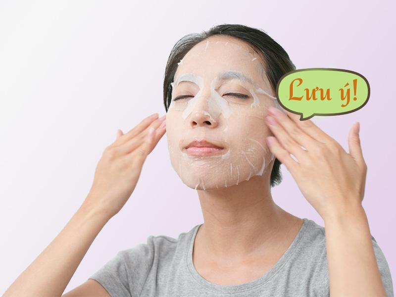 Làm sạch da bằng mặt nạ