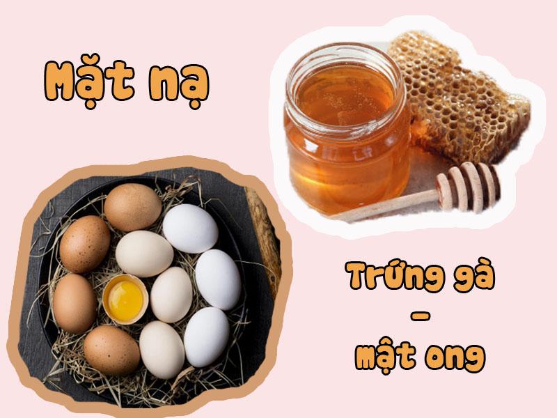 Làm đẹp da bằng trứng gà mật ong