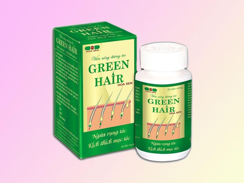 Viên uống Green Hair ngừa rụng tóc