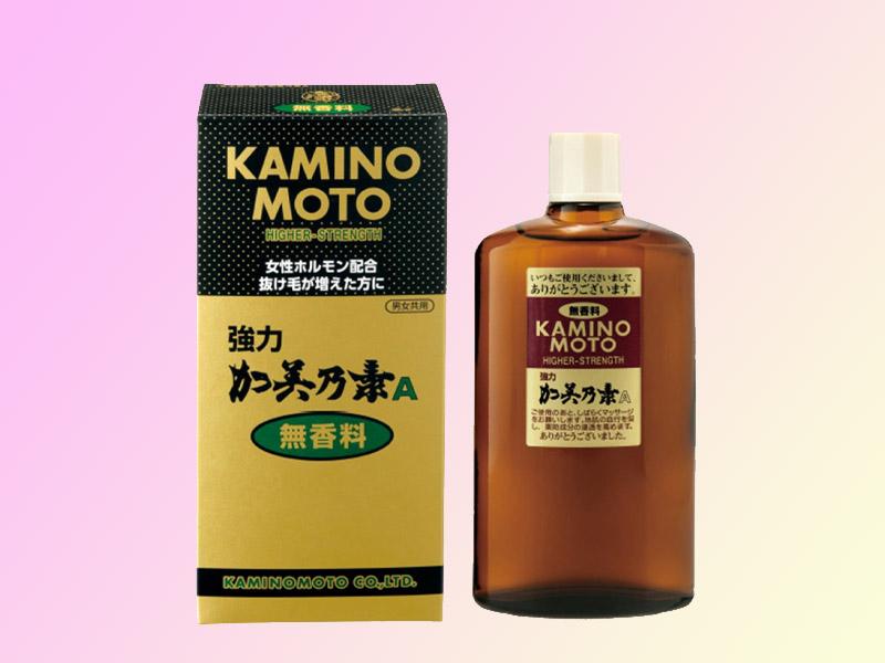 Thuốc mọc tóc Kaminomoto của Nhật Bản