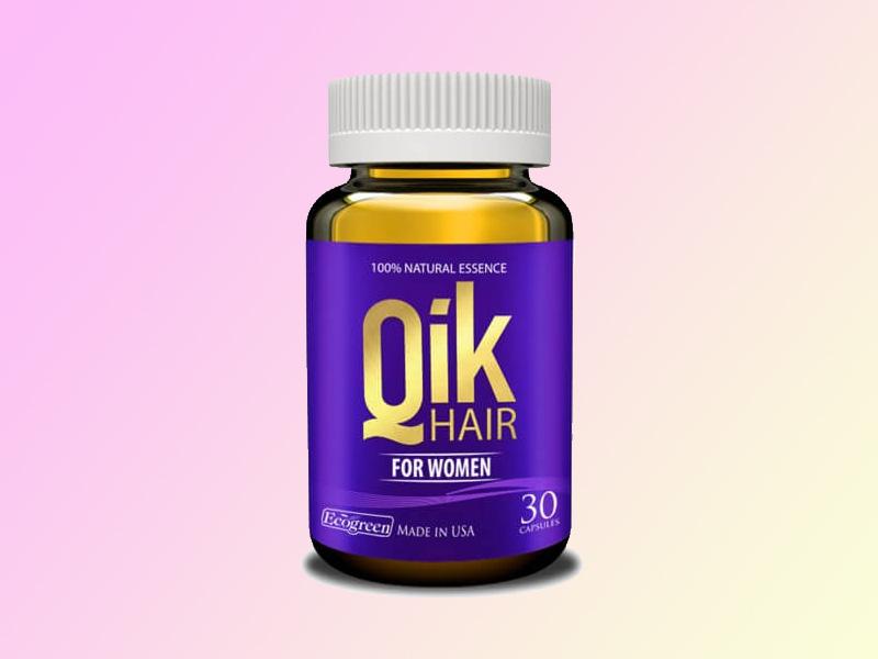 Qik Hair ngăn ngừa tóc gãy rụng