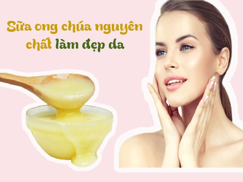 Sử dụng sữa ong chúa nguyên chất