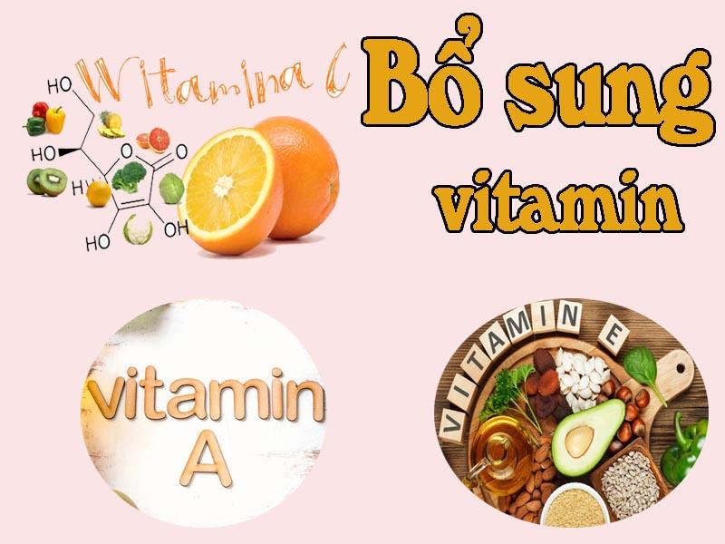 Bổ sung vitamin để làm đẹp da và chăm sóc sức khỏe