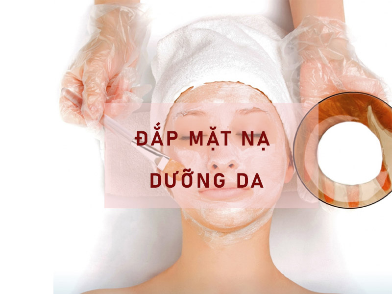 Đắp mặt nạ dưỡng da