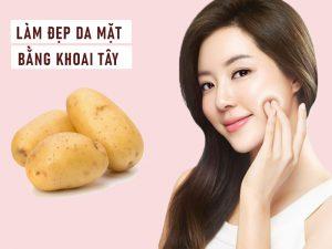 cách làm đẹp da mặt bằng khoai tây