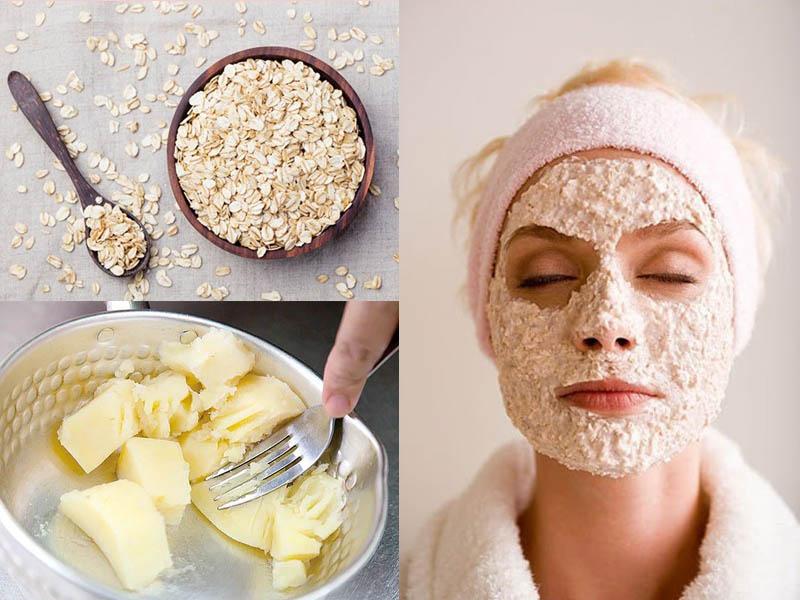 Công thức làm đẹp da mặt từ khoai tây và bột yến mạch