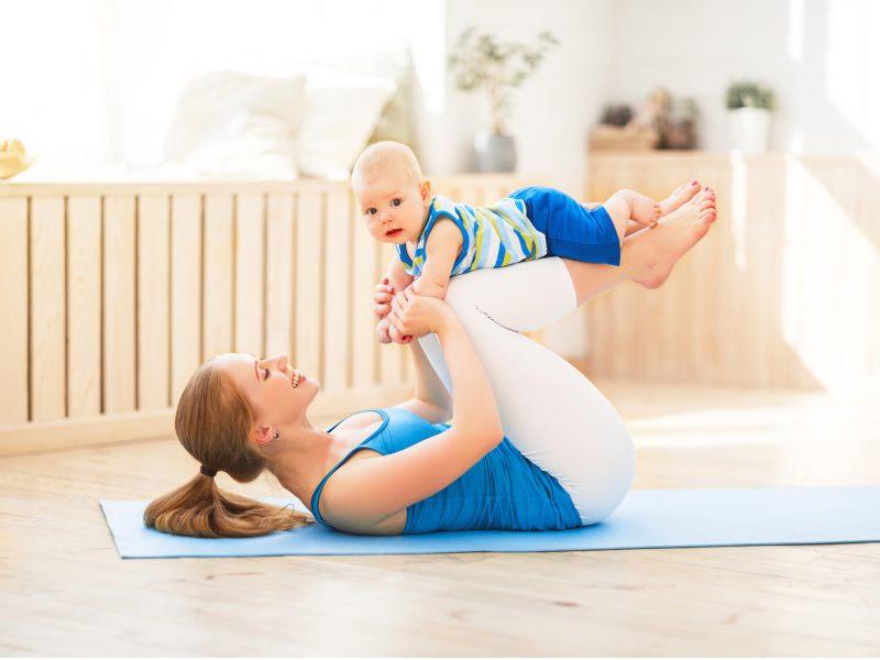 Tập thể dục đều đặn sau sinh